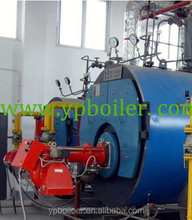 speed gas boiler barrel chain steam boiler