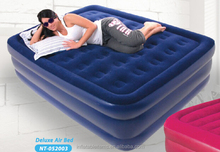 Luxury inflatable air bed , double airbed mattress,