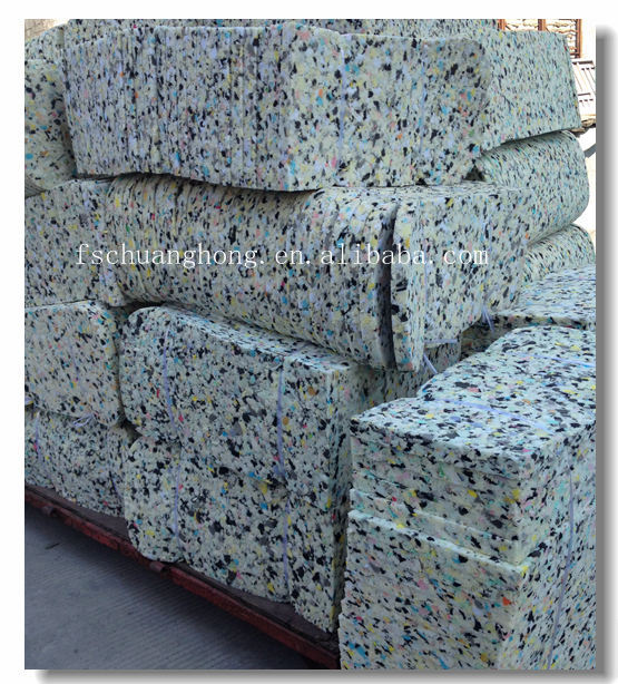 chuanghong high quality chair seat/furniture/cushion rebond foam