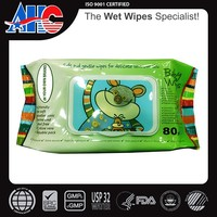 baby wipes flow pack 80ct alcohol free wet tissue