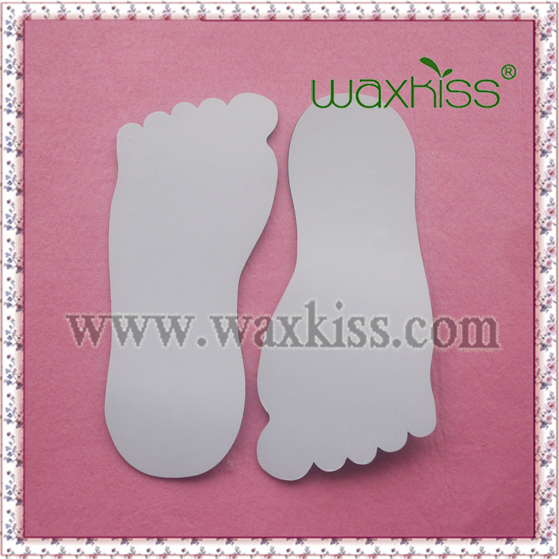 Professional tanning accessories / Spray tanning feet foot protectors black disposable sticky feet