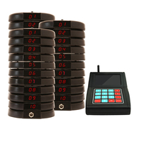 CATEL 433.92 MHz RF Wireless Calling System Paging System for restaurant, cafe, fast food, church guest pagers