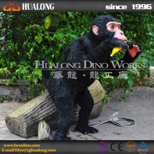 Children Park Remote Control Animatronic Monkey