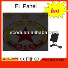 hot selling led sound activated t-shirts panel,led flash lighting shirt panel,el tshirt panel