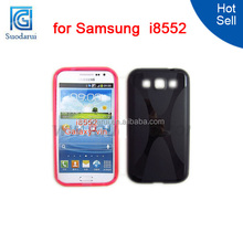 X line TPU Mobile Phone Case for Samsung Galaxy Win i8552 Mix color