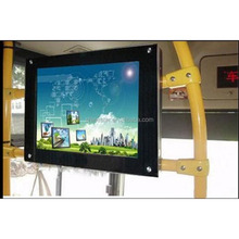 15 Inch Back Fixing Lcd HD Custom Tft Video Bus Advertising Monitor