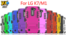 New Product-- iVi Super Combo clip ,3 in 1 Case with clip with kickstand For LG Tribute 5 K7 LS675 K8 K350.