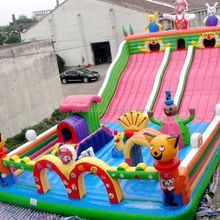 2017 hot selling inflatable obstacle course combo/ inflatable bouncer