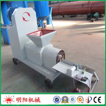 New type of automatic broken rod wood sawdust charcoal briquette making machine for sale