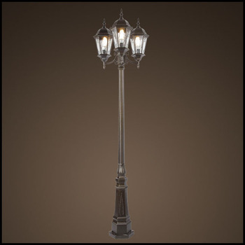 European style special tiffany glass 3 head garden lamp post lights european style special tiffany glass 3 head garden lamp post lights sg5300 3 mozeypictures Image collections
