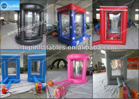 PVC Money Machine Inflatable Game/Inflatable Money Machine
