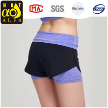 Women Summer Joggings Yoga Shorts with Ventilation,Close-fitting,Soft Fabric K309