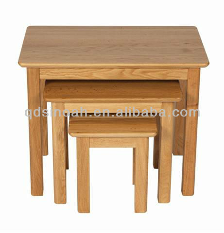Wooden Nesting Tables Solid Wood Nest Of Tables Wooden Furniture Pr031 Buy Wooden  Nesting Tables Solid