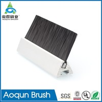 Hot Sale Strong Elastic Fibre Safety Panel Brush for Escalator
