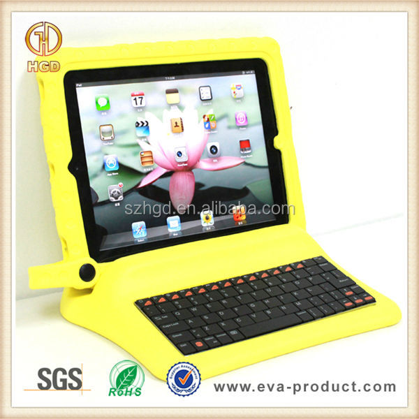 Best quality kids shockproof for ipad 2 keyboard case
