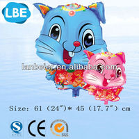 CE approved factory wholesale rabbit cartoon balloon