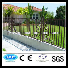 China antique wrought iron driveway gate