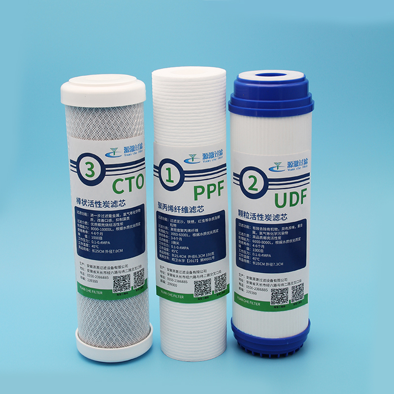 Factory Price Active Carbon Type Cto / Udf Carbon Block Filter Cartridge