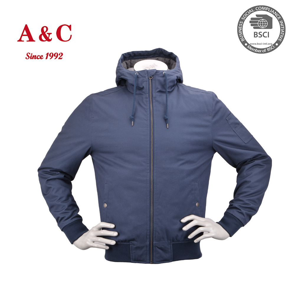 2016 Winter Bomber jacket Hood Replacement For Man