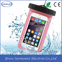 2016 high quality mobile phone pvc waterproof bag,Waterproof Pouch for Mobile Phone