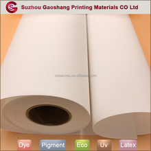 380gsm wide format inkjet canvas roll
