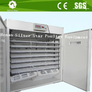 Poultry brooding machine used chicken egg incubator for sale