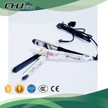 Professional customized vapour steam hair straightener with Argon oil