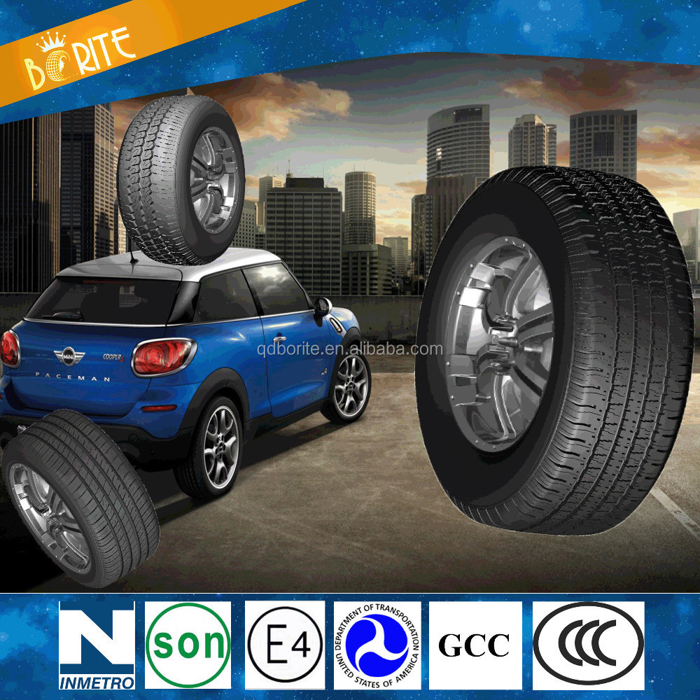 High Quality Car Tyres, color car tyre red green blue yellow, BORISWAY Brand Car Tyre