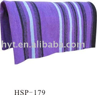 Western cotton saddle pad