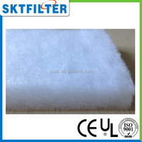 sound proof white synthetic fiber padding material