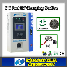 Factory Supply Green car battery charger & ev charging station for ev use