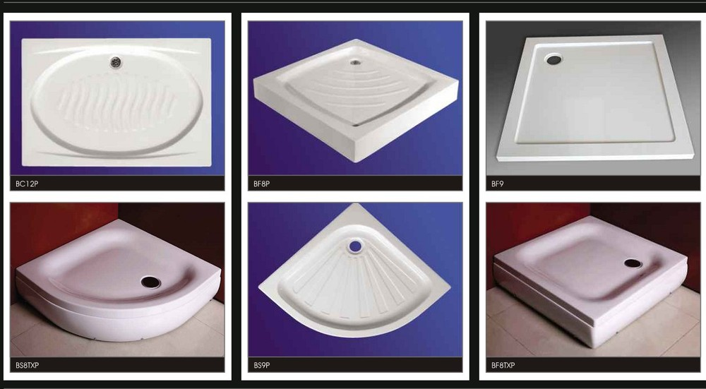 Bf8p Hot Sale 760 X 760 Shower Tray With Legs China Shower Tray ...