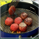 Professional customized stainless steel diy brick bbq cooking grill