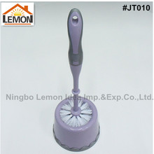 high quality plastic toilet brush with holder set