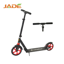 Pro outdoor sports foldable two thick PU wheel off road kick scooter for adult