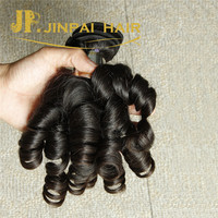 JP Wholesale Top Quality Unprocessed Pure Cheap Virgin 100% Indian Remy Human Funmi Hair