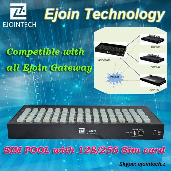 GSM sim bank 128 / 256 sim slots, goip gsm sim box, sim server 32 port gateway