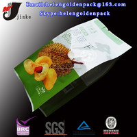durian chips packaging bag/alumin foil chips packaging