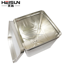 hot sale square packaging tins with customized printing box