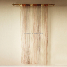 Sparkle M shape British style string door curtain