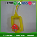 Custom anti-bacterial silicone hand gel pocketbac