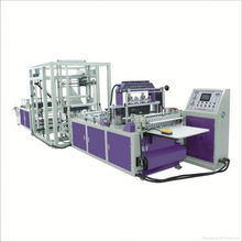 full automatic non woven zip bag making machine