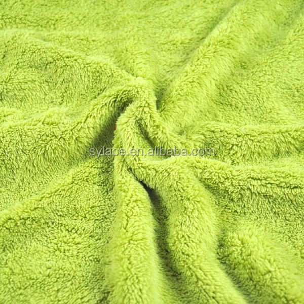 New Year 2017 Coral fleece fabric for garment,cheap custom printed polar fleece fabric