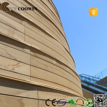 cheapest wood plastic composite exterior wall panel wpc cladding material