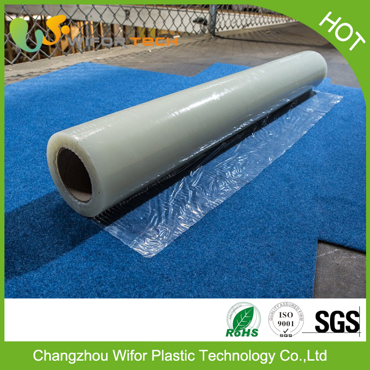 Custom Surface Protection Self Adhesive PE Material Temporary Plastic Cover For Car Carpet