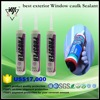 glass door and glass window silicone exterior caulk sealant