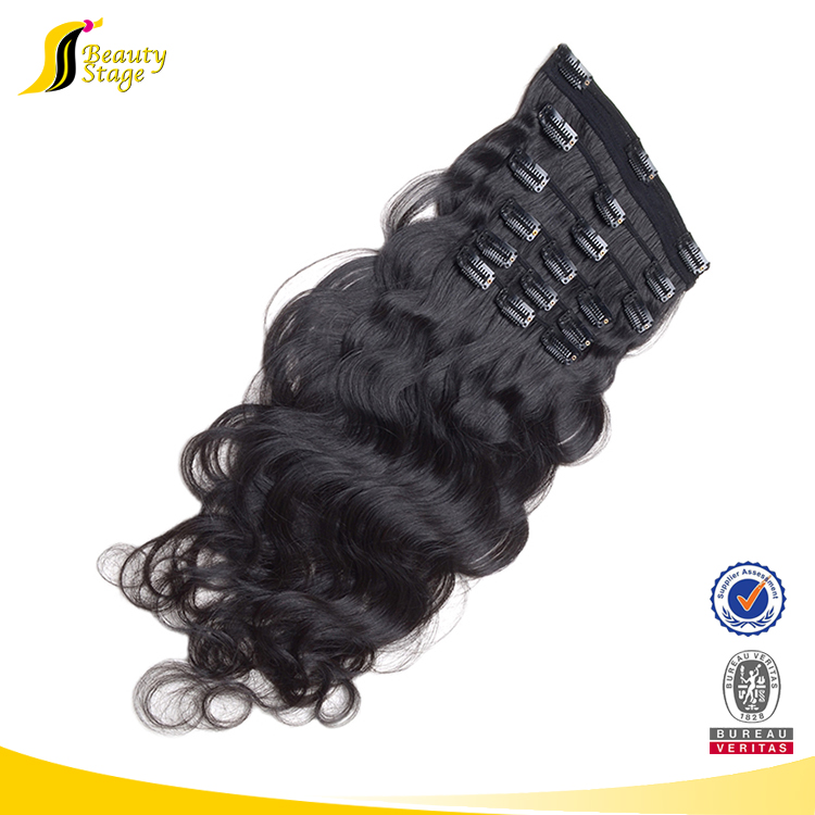 120g 160g 220g best price cuticle intact remy top hair piece clip in hair