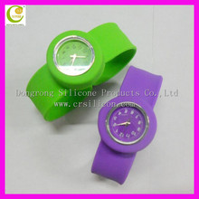 Factory price promotional gift silicone slap smart/silicone smart watch