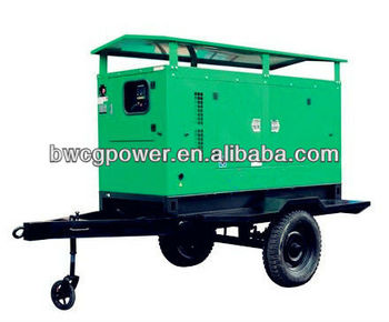 20kw power with Cummins Diesel Generator Super Silent Mobile Trailer Genset