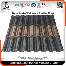 Roof design chinese style corrugated galvalnized galvalume metal roof sheet color stone coated color roof design philippines